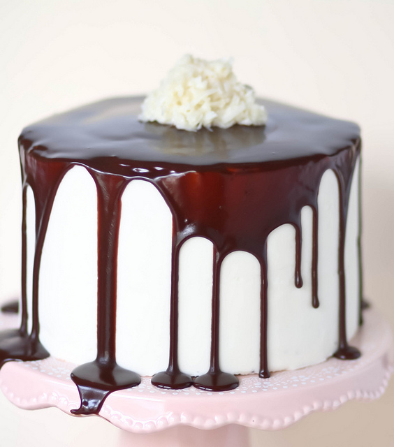 Coconut Mounds Layer Cake