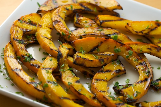 Sweet and Sour Grilled Pumpkin - Recipe Hearth